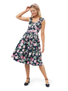 PHILLIPA FLORAL DRESS