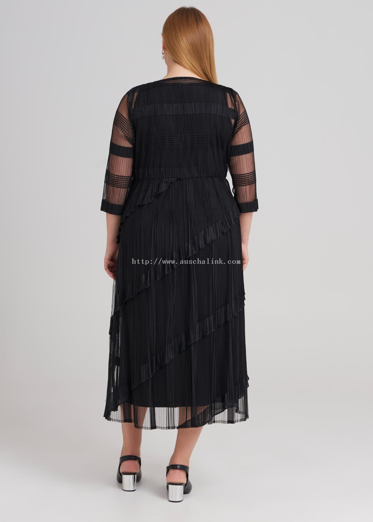 Hazine Pleated Dress