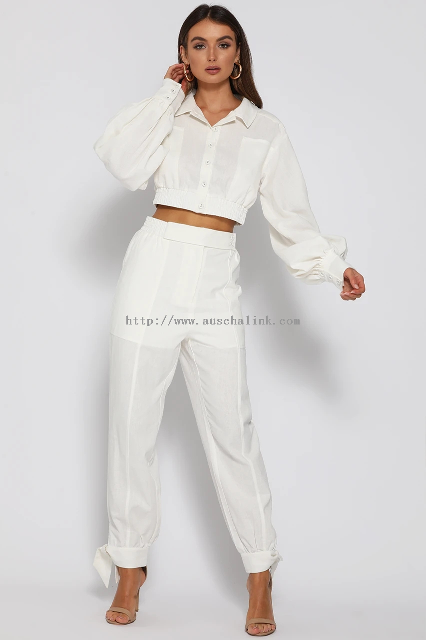 ZIMMY PANTS-WHITE